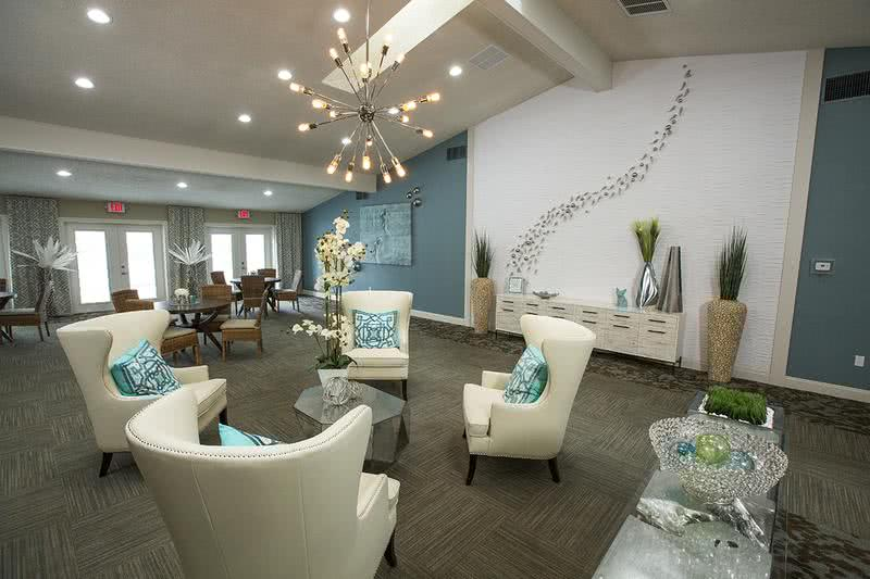 Clubhouse Interior | Come on into our leasing office for some complimentary coffee, or just to say hello!