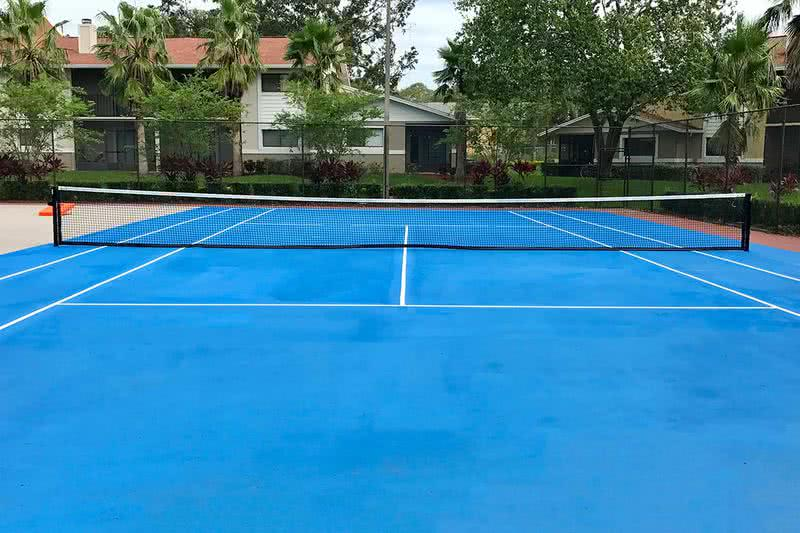 Tennis Court | Play a game at our tennis court, located next to the pool.