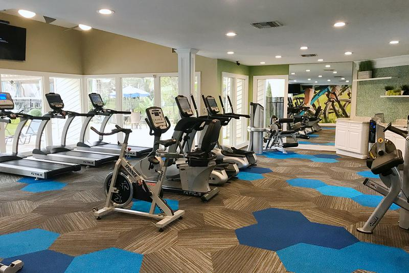 Fitness Center | Get in a workout any time of day at our 24-hour fitness center.