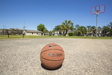 Basketball Court | Play a game at our community basketball court.