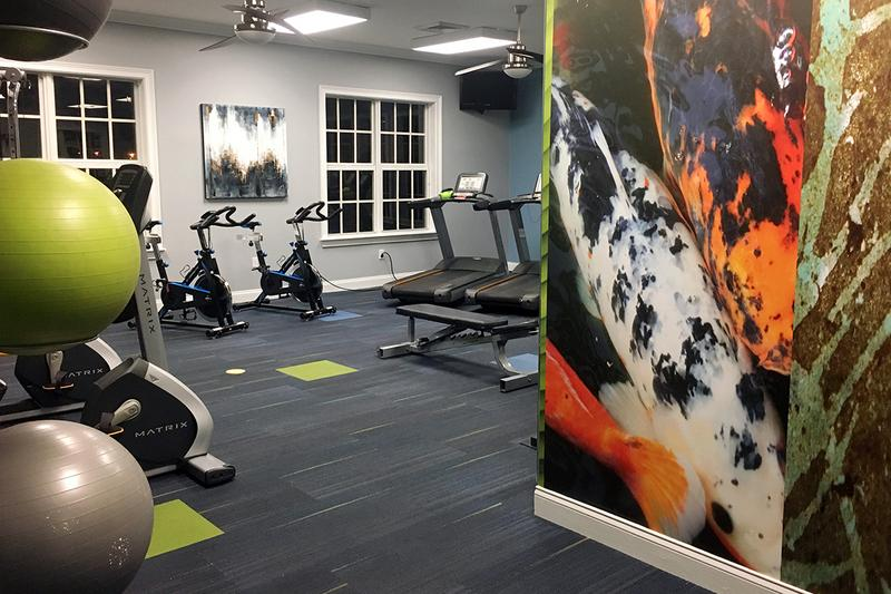 24-Hour Fitness Center | 24-hour Fitness Center our residents can enjoy everyday!