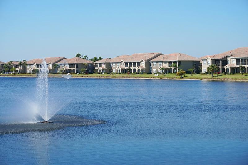Lakeside Living | When you make Lakes of Tuscana your home, you can enjoy beautiful lakeside living.