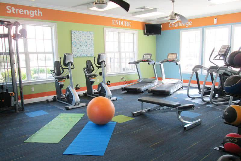 24-Hour Fitness Center & Yoga | 24-hour Fitness Center our residents can enjoy everyday!
