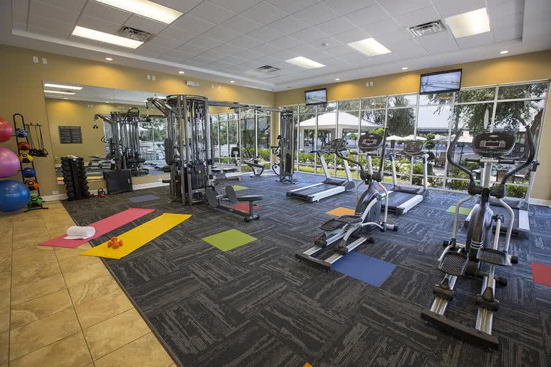 Fitness Center | Get fit any time at our 24-hour fitness center.