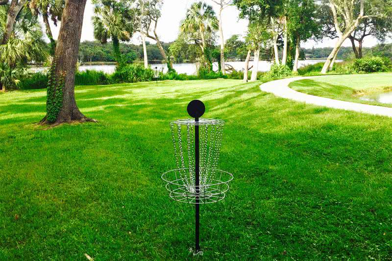 Over 30 Acres of Room to Roam | We even have a disc golf course right on site - enjoy a game with friends!