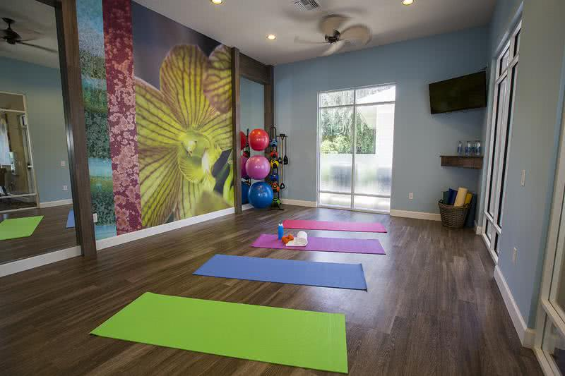 Yoga Studio | Meditate in our brand new yoga studio.