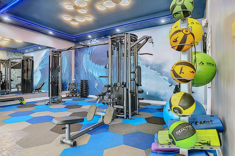 24-Hour Fitness Center | Another view of our newly renovated fitness center.