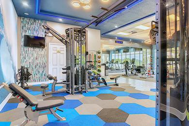 Weight Training Equipment | Our fitness center also features all the weight training equipment you need.