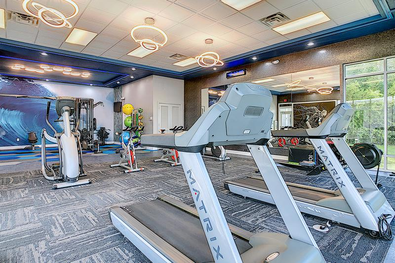 State-of-the-Art Fitness Center | Get a workout in our state-of-the-art fitness center with 24-hour access.