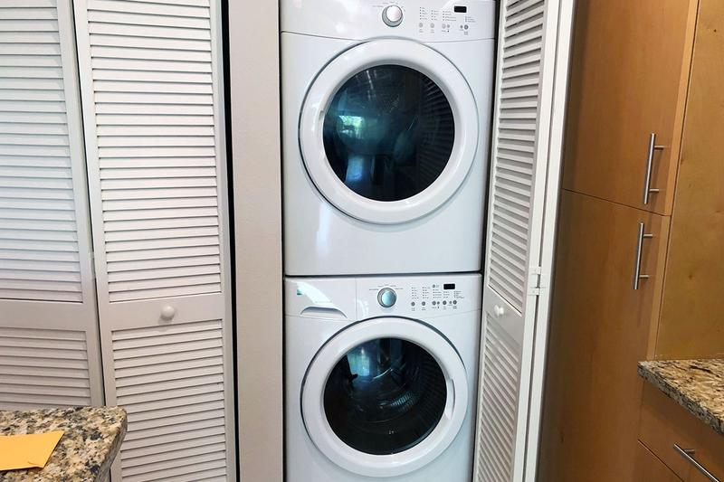 Stackable Washer & Dryer | Enjoy the convenience of having your very own washer & dryer appliances. (Included in every home)