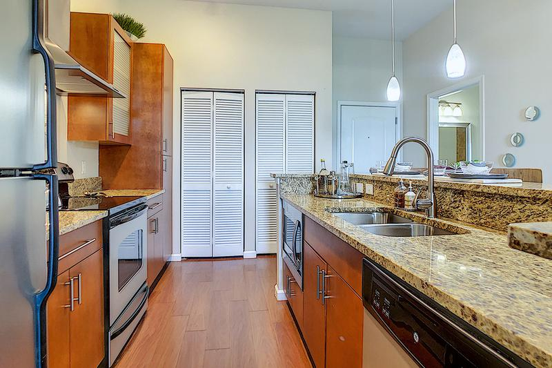 Kitchen | Your updated kitchen comes fully applianced.