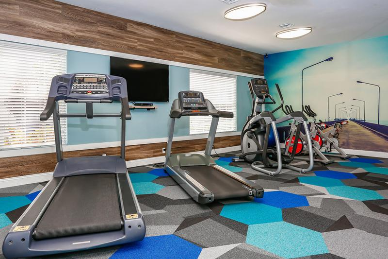 24-Hour Fitness Center | Get fit in our brand new 24-hour fitness center.