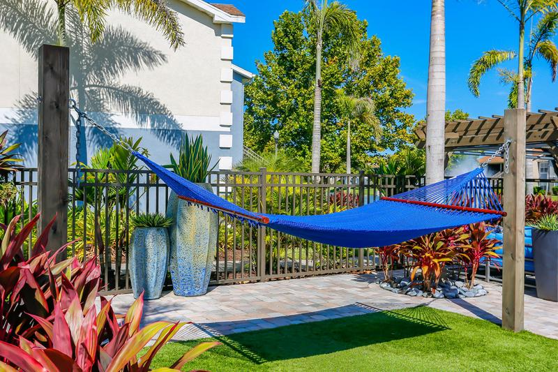 Hammocks | Lay out on the poolside hammocks and soak in the sun from our sundeck.