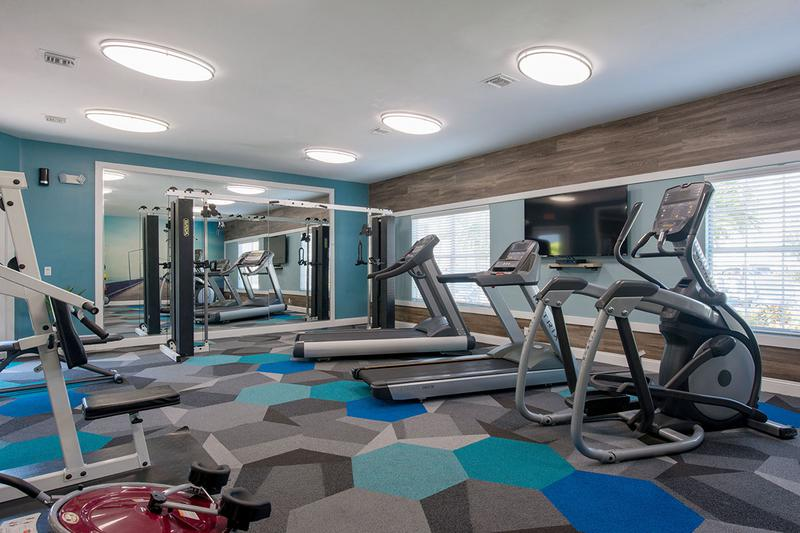 Cardio Equipment | Our fitness center includes plenty of machines for you to get in your workout.