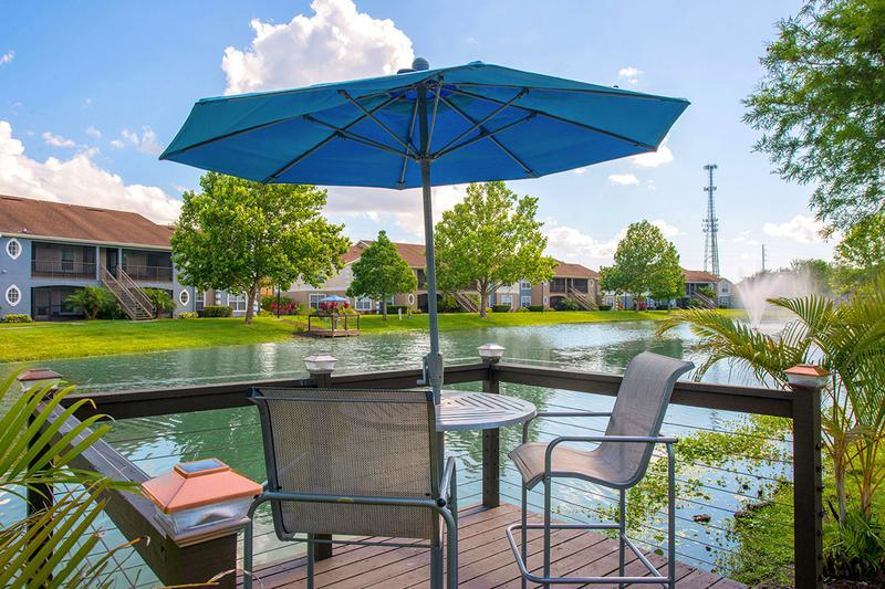 Docks | Sit on one of the lakeside docks and enjoy the beautiful views.