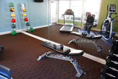 Fitness Center | There's no need for a gym membership when you can utilize our resident fitness center.