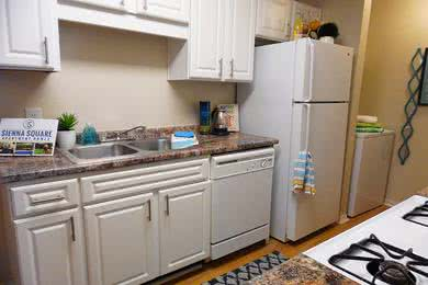 Kitchen | Your new kitchen also features a dishwasher for your convenience.