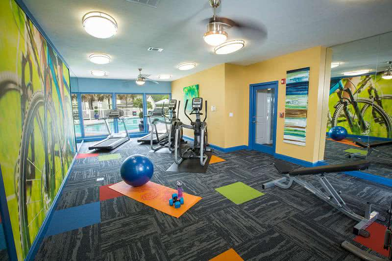 Fitness Center | Get fit any time of the day at our 24-hour fitness center.