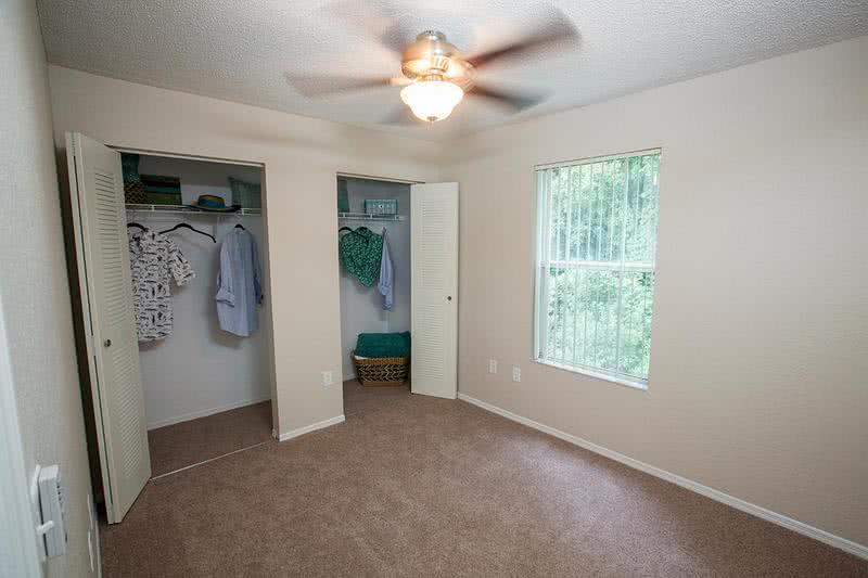 Bedroom | Spacious bedrooms with ample closet space.