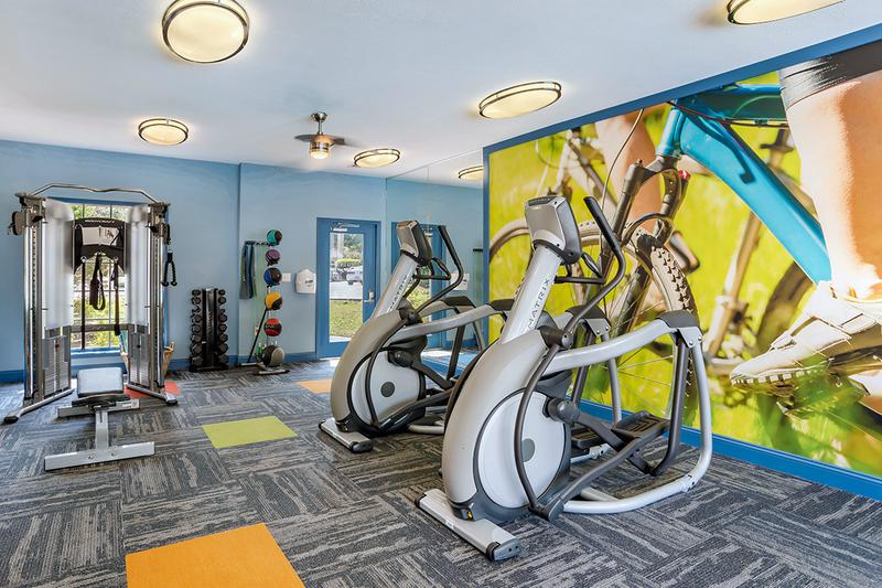 Fitness Center | Get a workout in our newly renovated state-of-the-art fitness center!