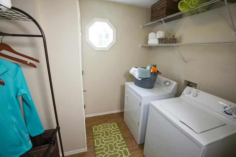 Laundry Room | Laundry room with full size washer and dryer included.