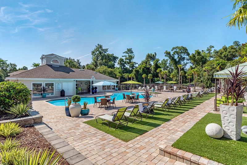 Expansive Sundeck | Lay out on our expansive sundeck on those sunny Florida days.