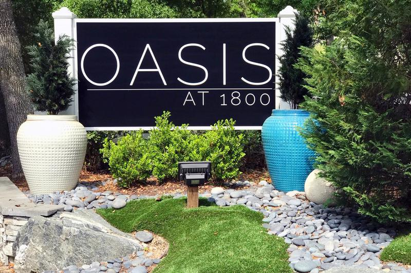 Welcome Home to The Oasis at 1800 | Offering 1 and 2 bedroom apartments in Tallahassee. At The Oasis at 1800, you are not renting an apartment, you are renting a home!