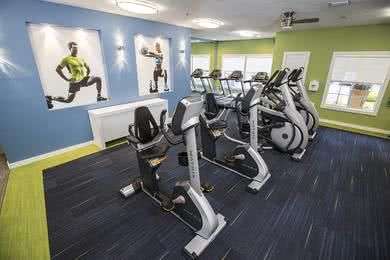 Fitness Center | Our fitness center is open 24-hours a day!