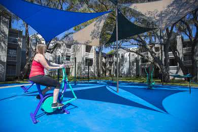 Outdoor Gym | Exercise under the sun at our outdoor gym.
