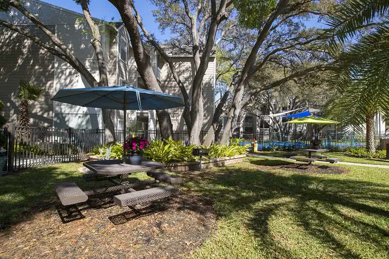 Picnic/BBQ Areas | Have a picnic with family and friends in our picnic area. BBQ grills are provided.