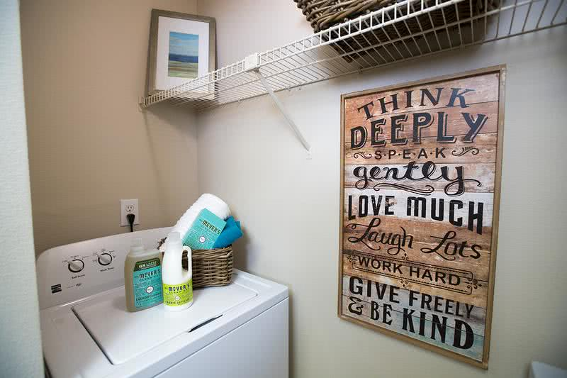 Laundry Room | All of our apartment homes include washer and dryer appliances for your convenience.