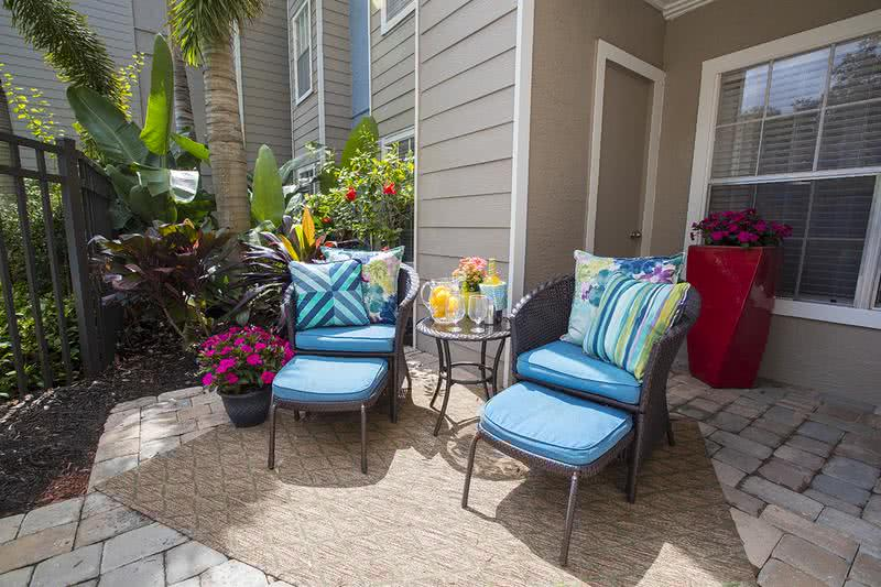 Private Patio/Balcony | Enjoy some fresh air from the privacy of your very own patio or balcony.