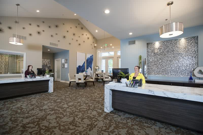 Leasing Office | Come on into the leasing office for some complimentary coffee, or just to say hello! Our friendly leasing staff is waiting to help you find your new home!