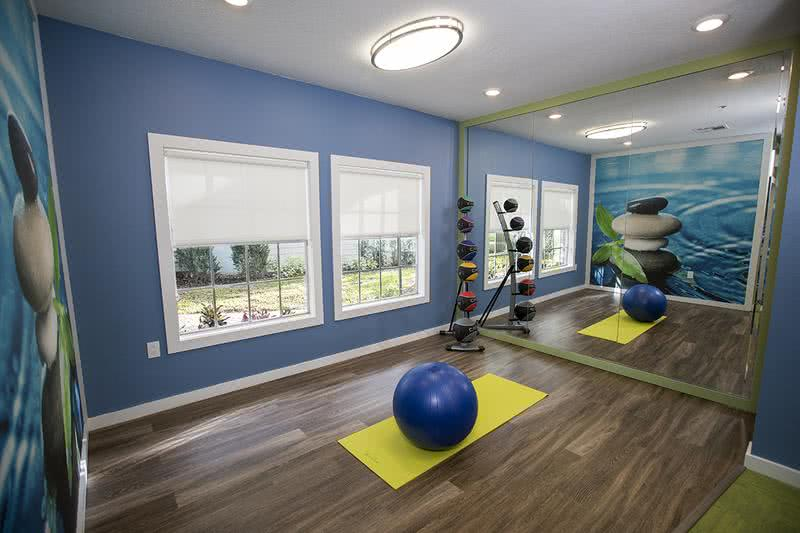 Yoga Center | Our Fitness Center also includes a Yoga Center!