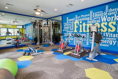 Fitness Center | Updated resident fitness center -coming soon!