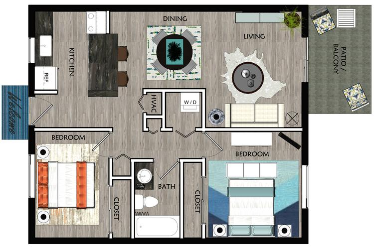 Apartment Floor Plans Amp Pricing Slate Apartments In