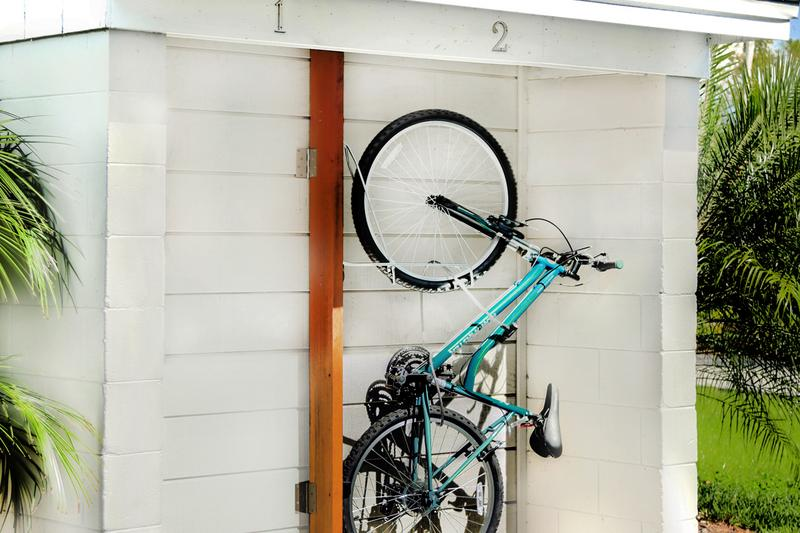 Bike Storage | Ask us about our convenient and complimentary bike storage!