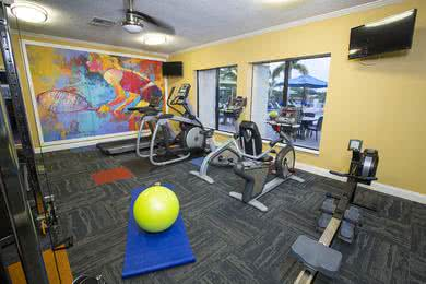 Fitness Center | Get a workout in our 24-hour fitness center.