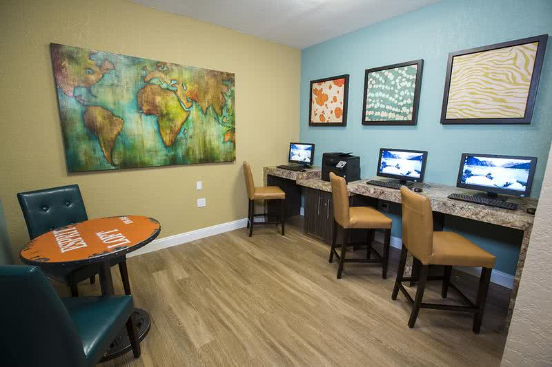 Business Center | Catch up on some work in our business center.