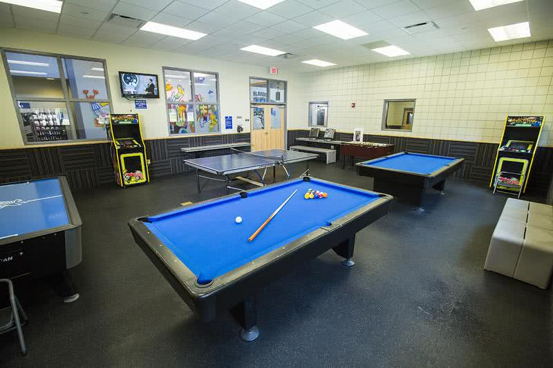 Magic Rec Center- Game Room | The game room at the Orlando Magic Rec Center, located next door to Amber Lakes is free for residents to use.