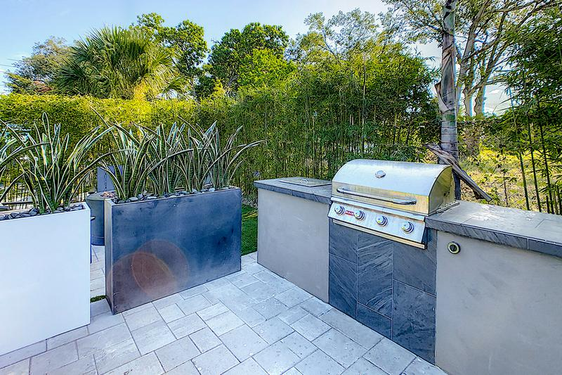 Gas Grill | Have a cookout utilizing our gas grill BBQ area.