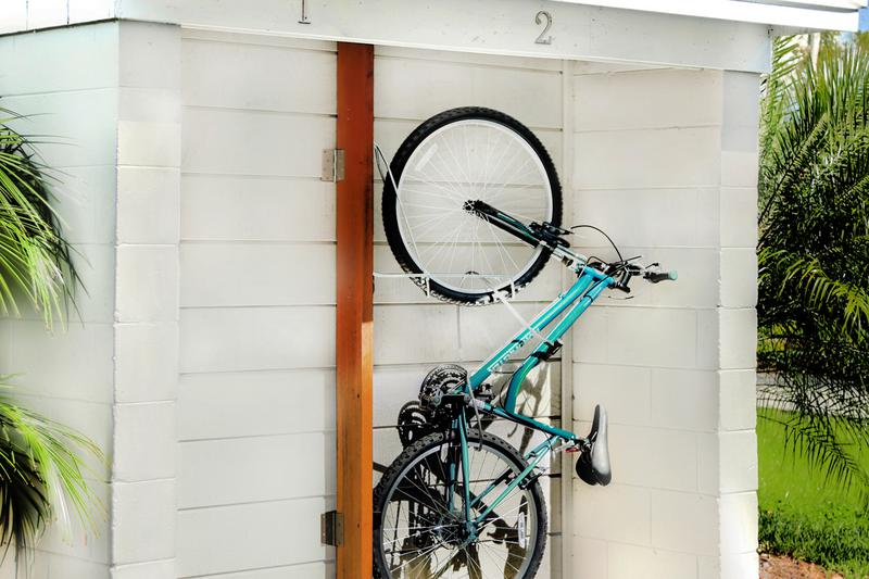 Bike Rack | Our residents can store their bicycles at our bike rack.