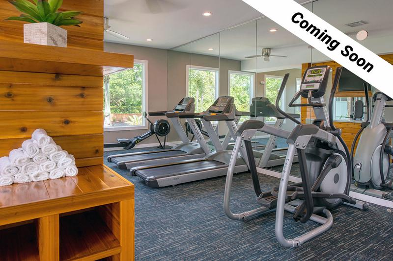 Fitness Center | Keep an eye out for our brand new state-of-the-art fitness center Coming Soon!