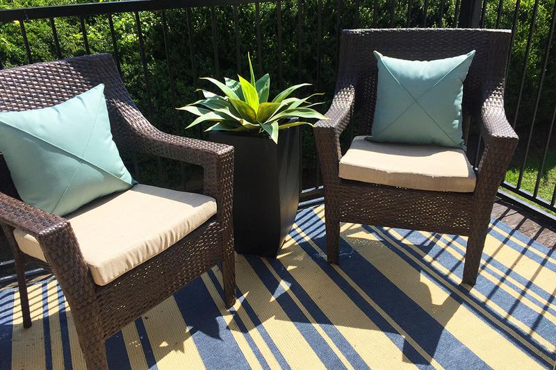 Private Patio | Enjoy some fresh air from the privacy of your very own patio.