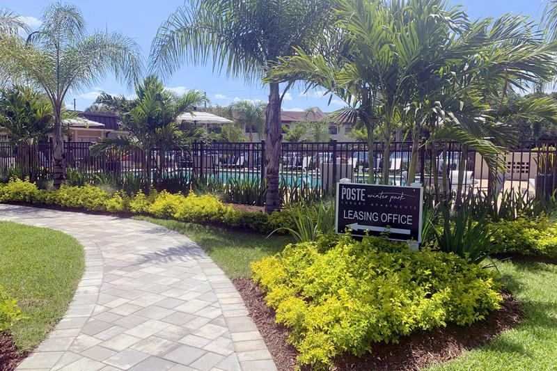 Lush Landscaping | Take a stroll through our beautiful community and enjoy the lush landscaping.