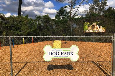 Dog Park | We are a pet friendly apartment community and have an onsite dog park.