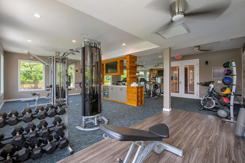 Fitness Center | Get in your workout any time of the day at our 24-hour fitness center.