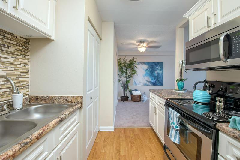 Kitchen | You'll enjoy your newly renovated kitchen that opens up to the dining area.