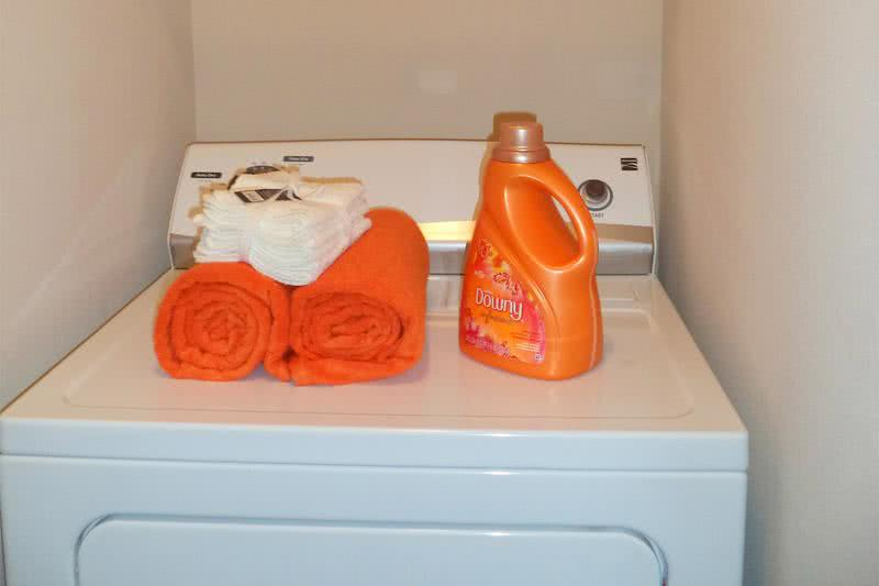 Washer and Dryer | Your apartment home is complete with your very own full-size washer and dryer appliances.
