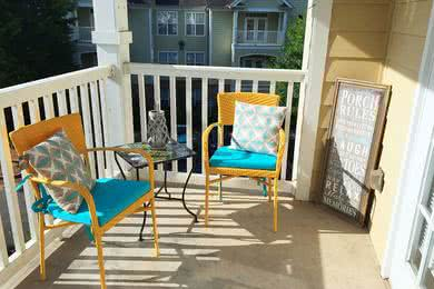 Private Patio/Balcony | Enjoy the outdoors from the privacy of your very own patio/balcony.